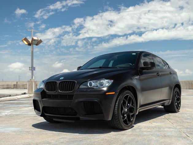 BMW - black out package - chrome delete vinyl wrap