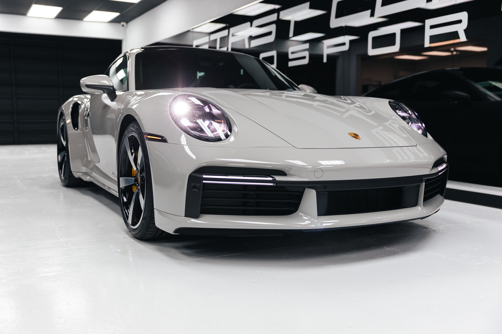 Porsche Turbo S 2021 paint protection fi