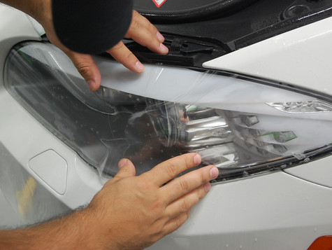 headlight paint protection Miami