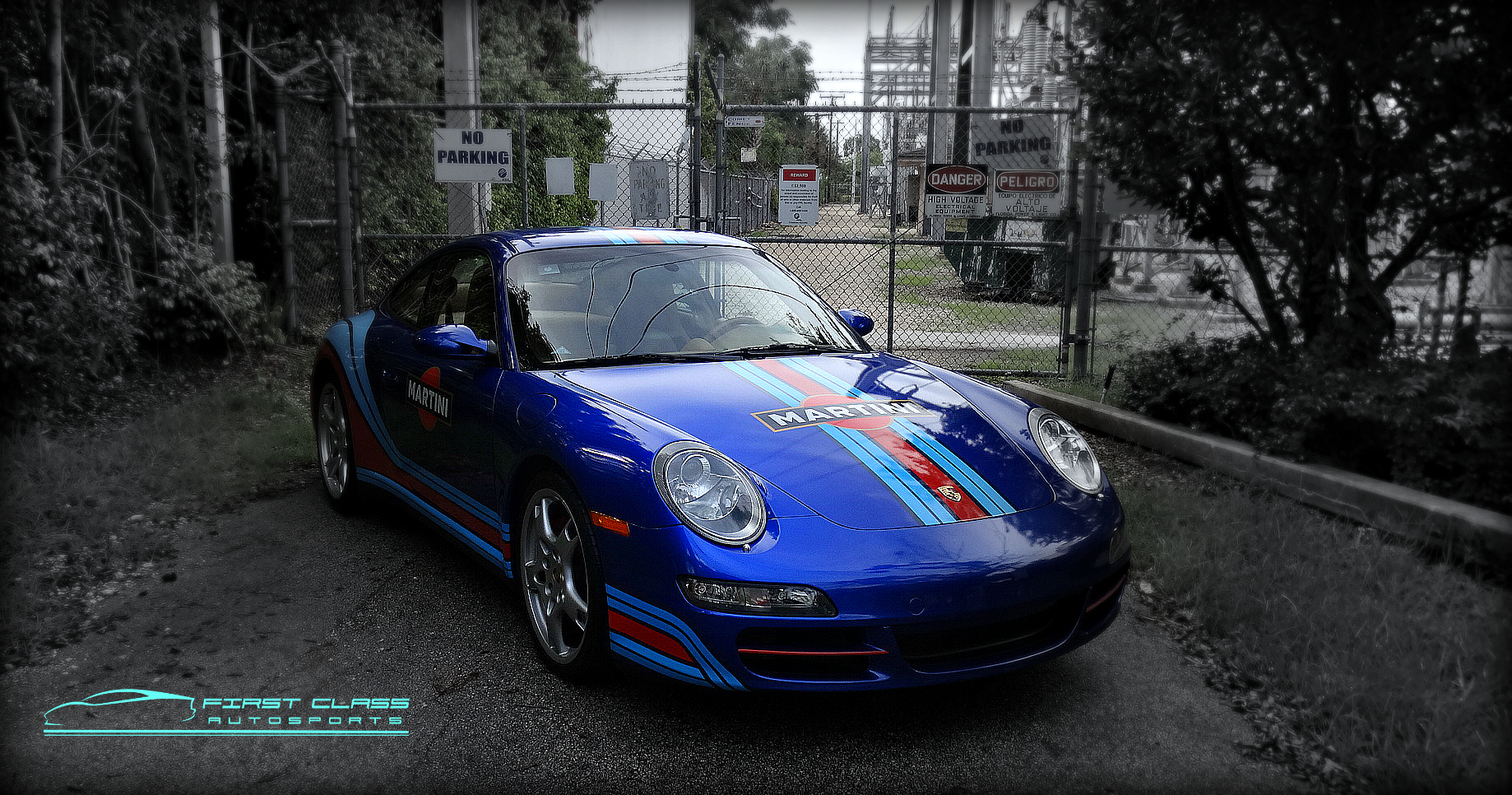 Porsche 911 Carrera 4s Turned Into Martini Racing Porsche