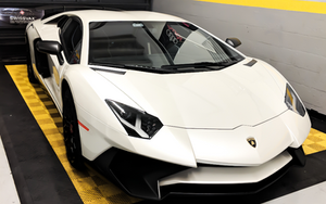 lamborghini aventador sv vehicle wrap miami