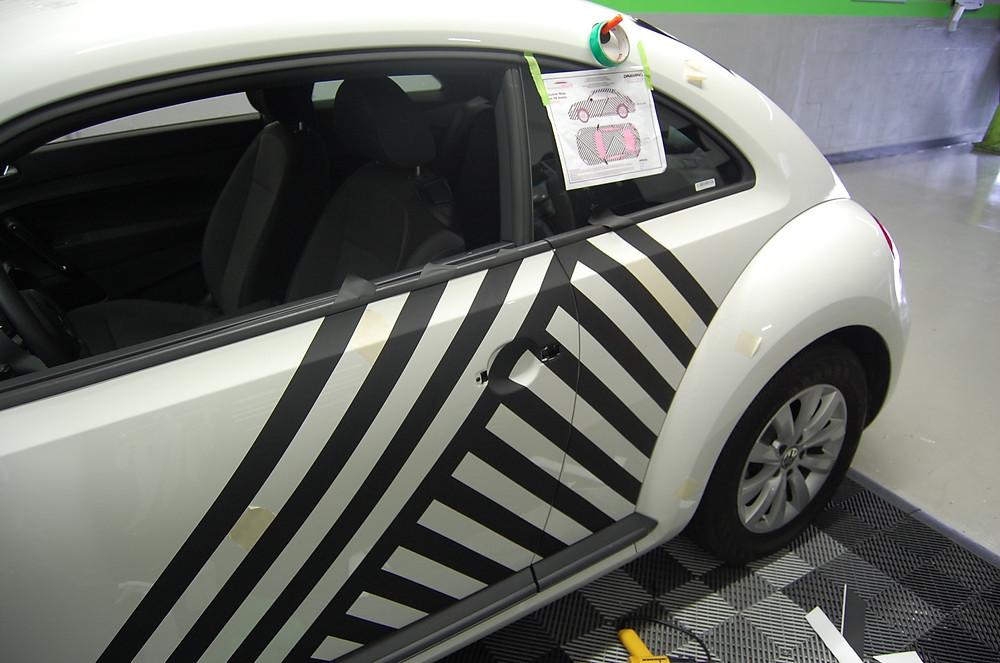 VW BEETLE CAR WRAP MIAMI