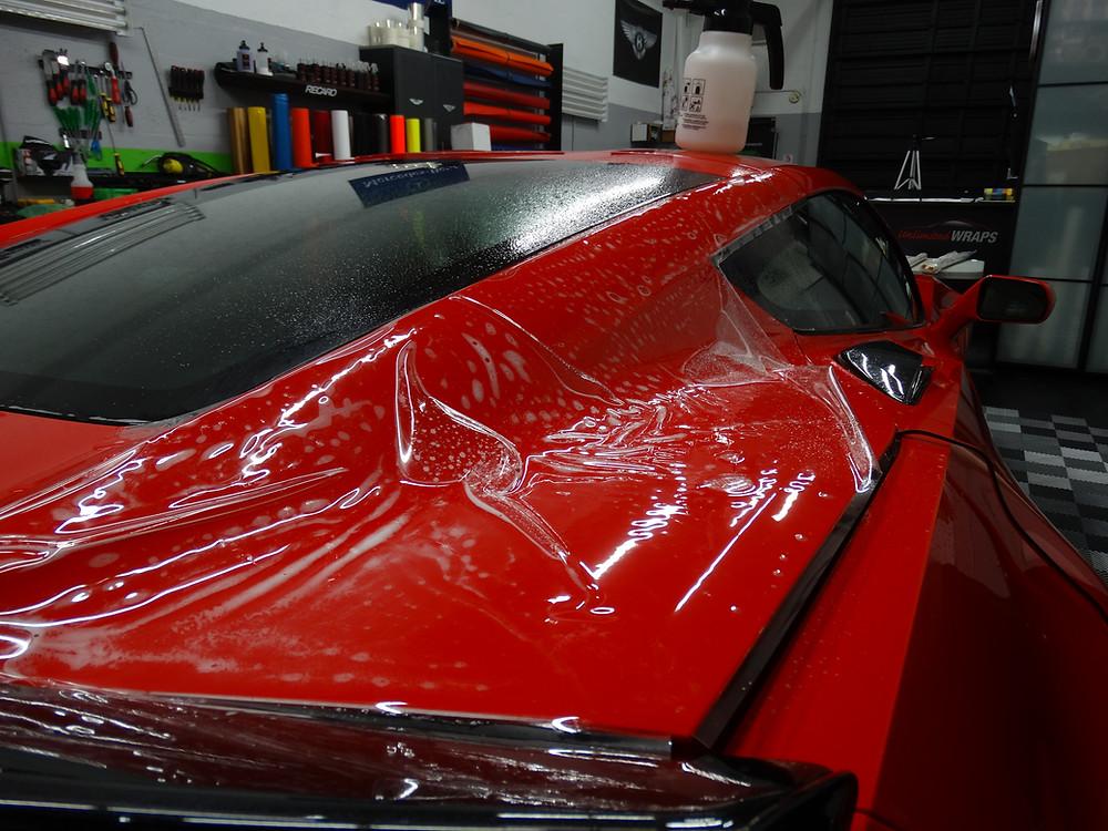 Miami clear bra corvette ZO6 Xpel ultimate