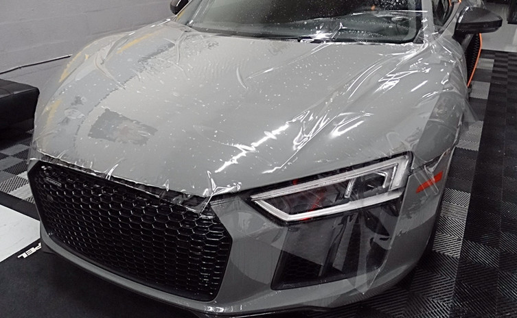 Audi R8 Paint Protection Film Miami