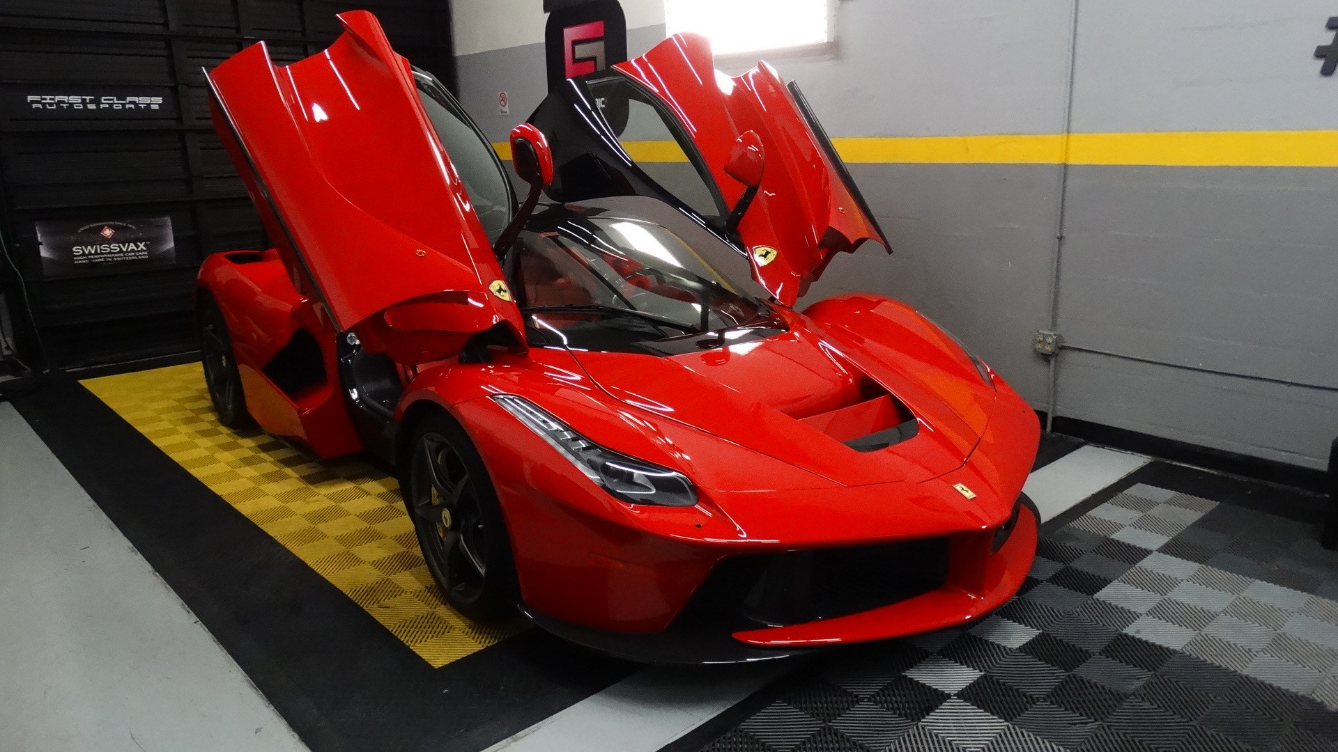 La Ferrari Ceramic Pro and Paint Protection Film Miami