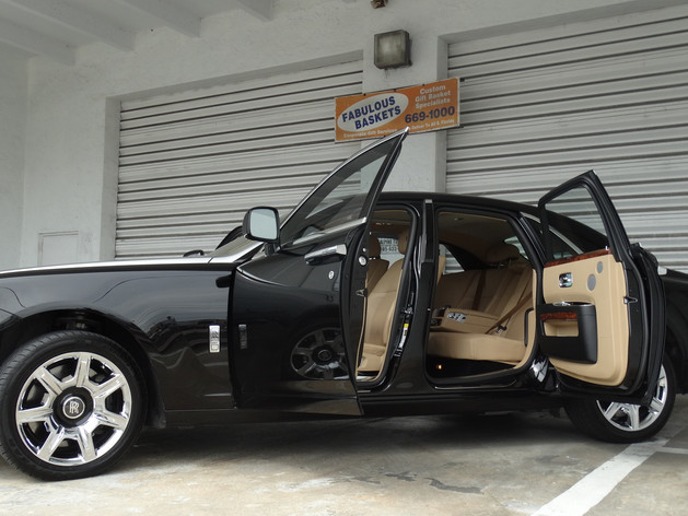 Rolls Royce detailing Miami