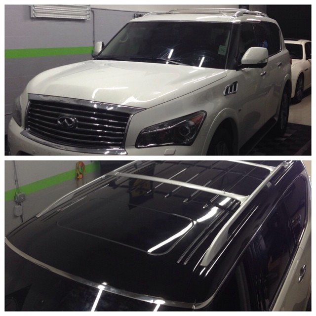 Infiniti full wrap roof Miami