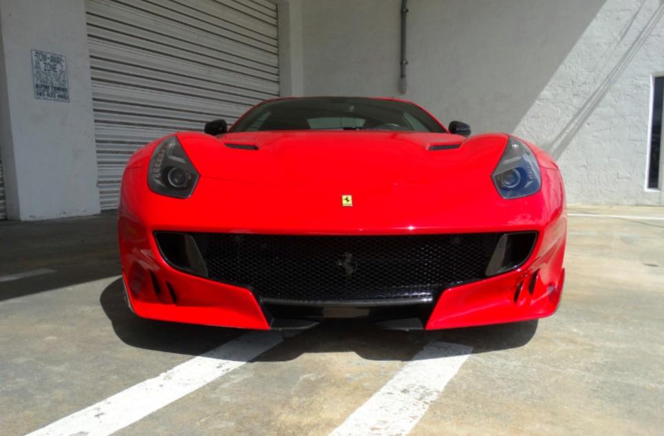 Ceramic Pro Ferrari TDF Miami First Class Autosports