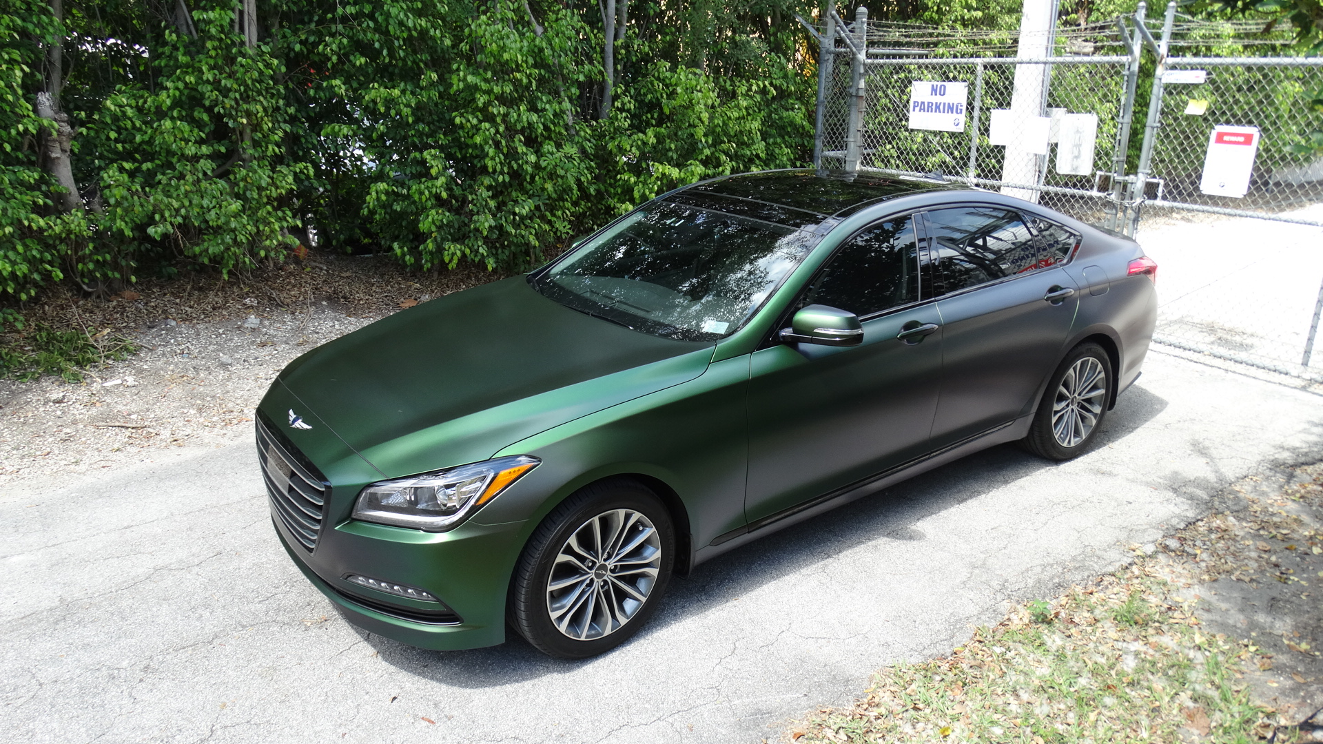 Car Detailing Prices >> 2017 Genesis G80 Complete Color Makeover At First Class Autosports In | MIAMI CAR WRAPS ...