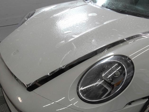 Porsche Paint Protection Film Miami