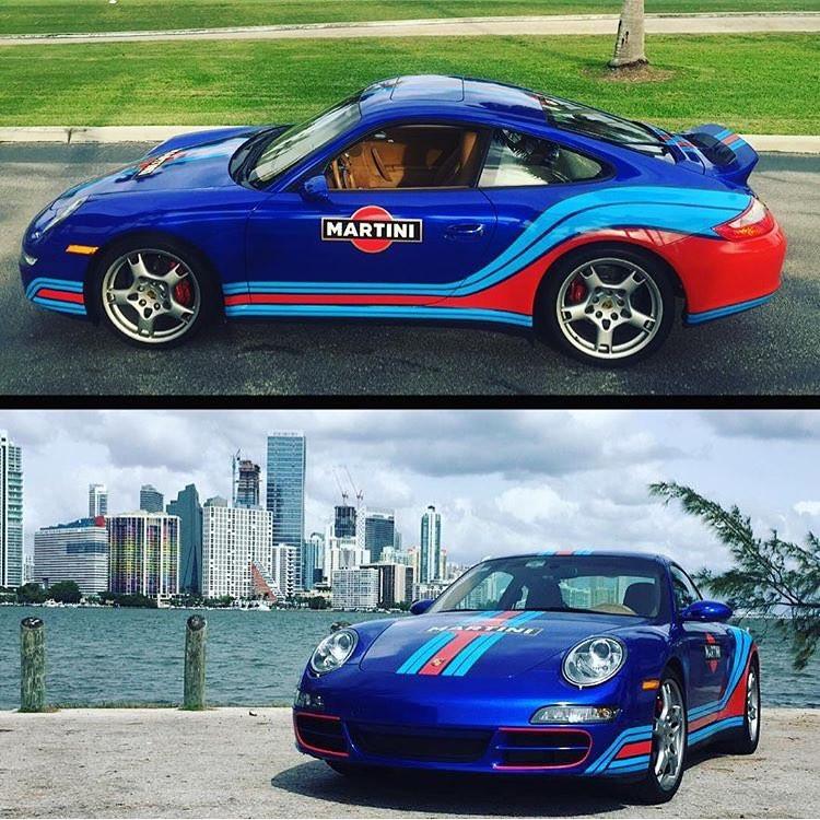 Porsche Racing Stripes Rally Stripes