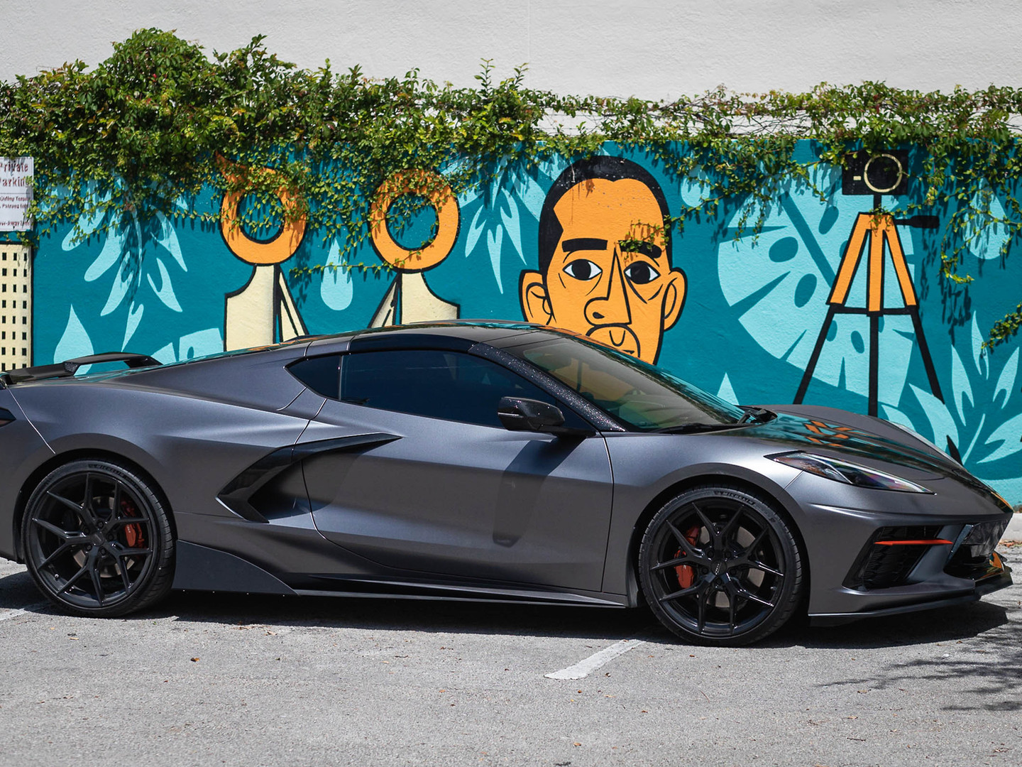 Corvette C8 custom wrap