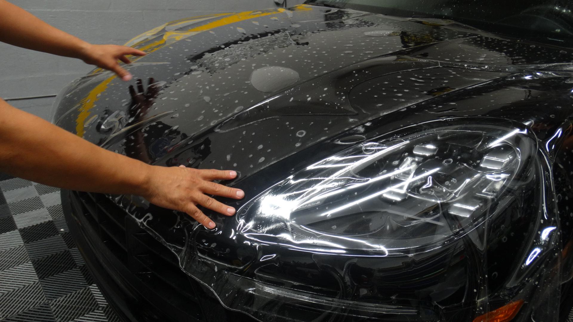 Porsche Macan clear Bra Miami