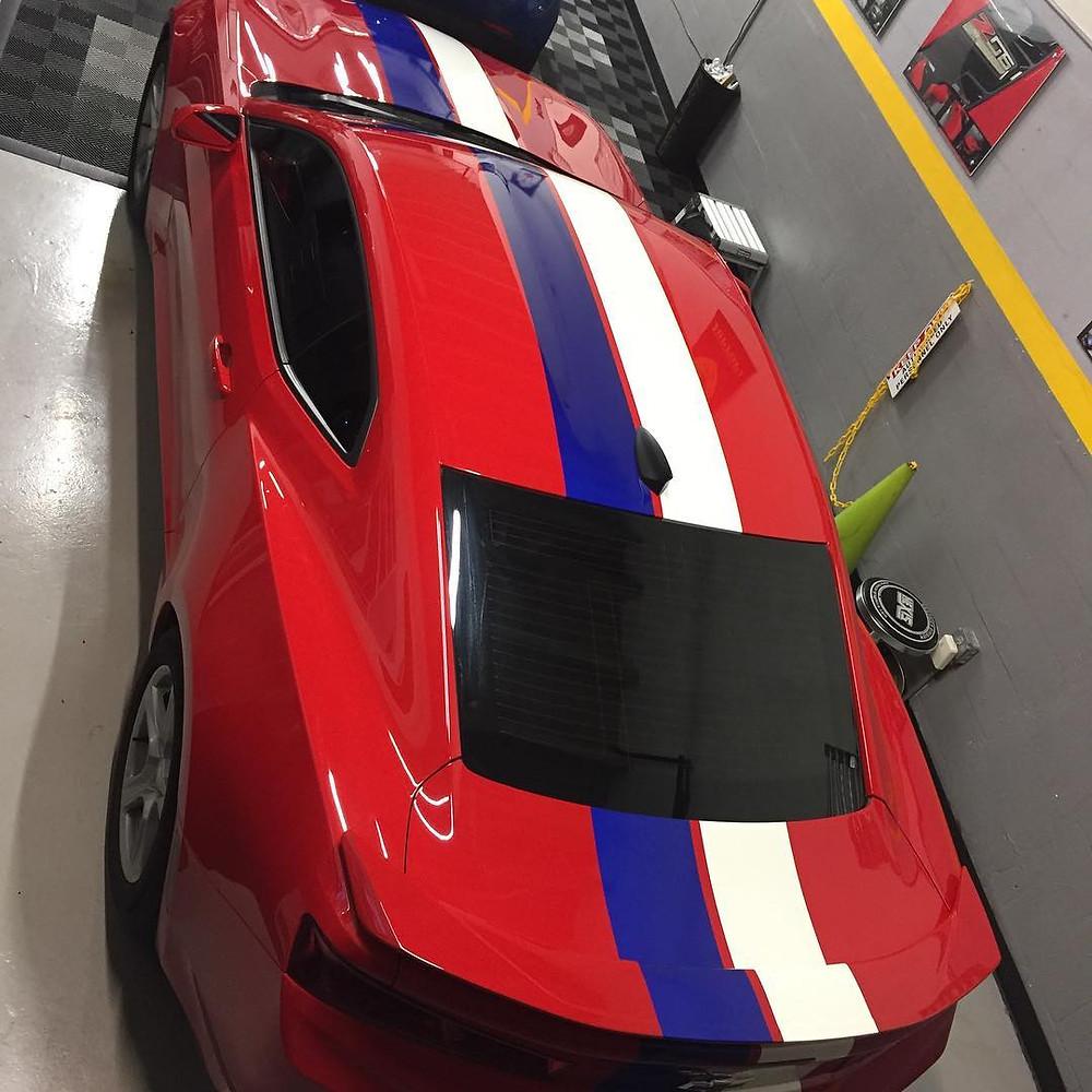 Camaro Racing Stripes Rally Stripes
