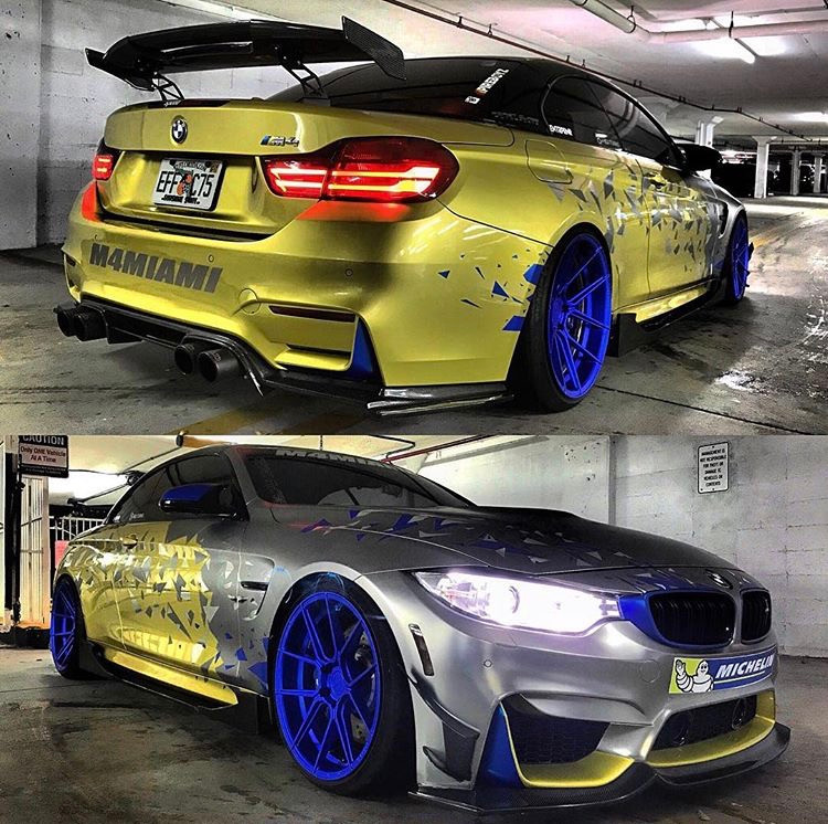 M4Miami - BMW M4 - Car Wrap Miami - First Class Autosports