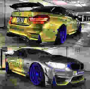M4Miami - BMW M4 - Car Wrap Miami - First Class Autosports