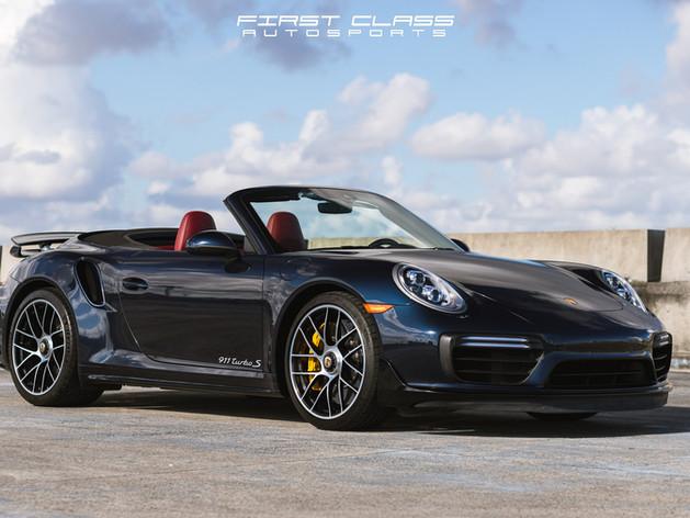 Porsche Paint Protection Film and Ceramic Coating Miami