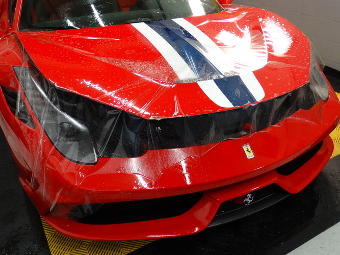 Ferrari 458 Speciale  paint protection f