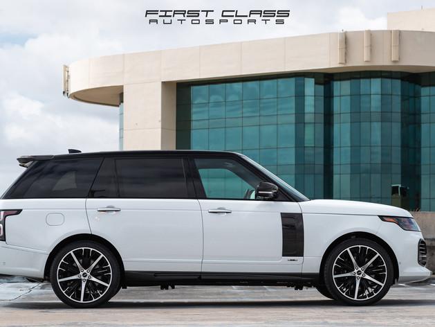 Range Rover Paint Protection Film Miami