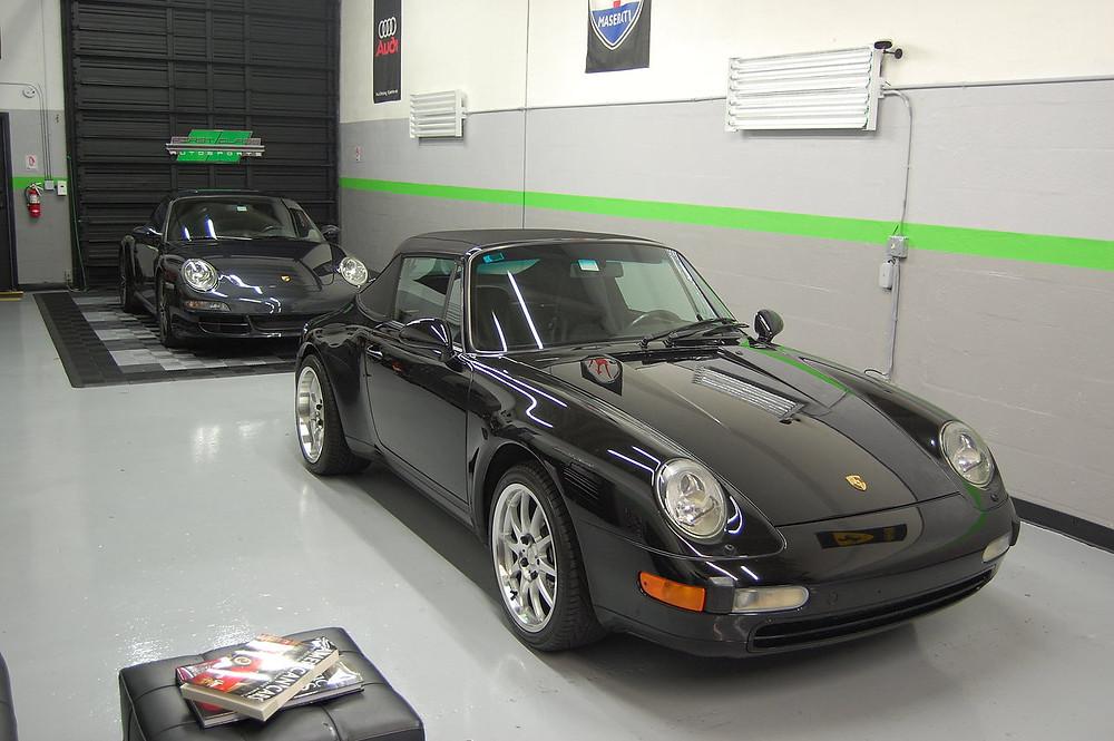 Porsche car detailing Miami