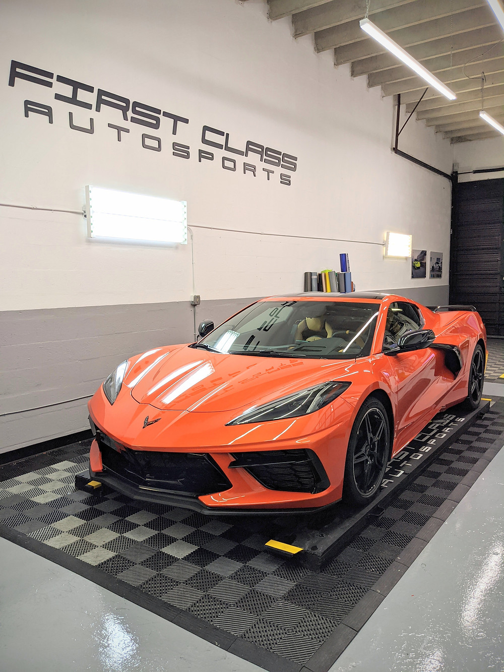 The new Corvette C8 is now here at First Class Autosports Miami for the best protection package