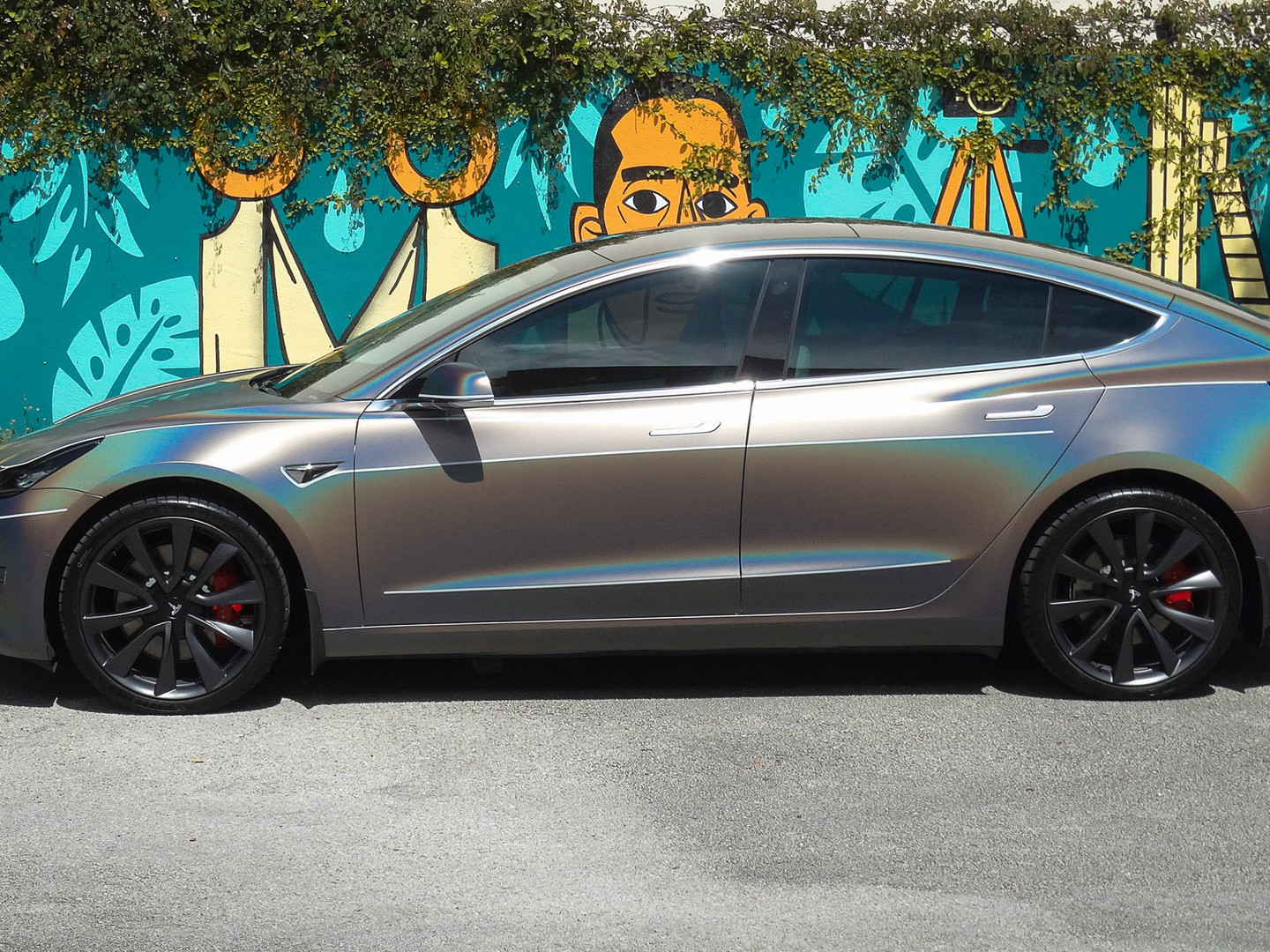 Model 3 car wraps Miami