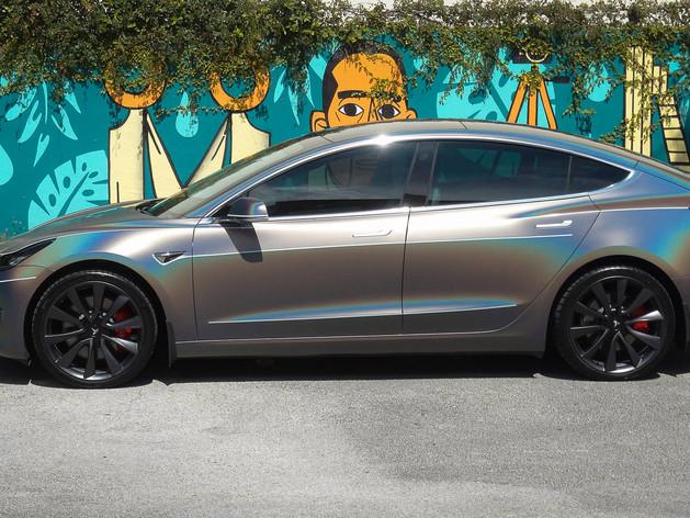 Model 3 car wraps Miami