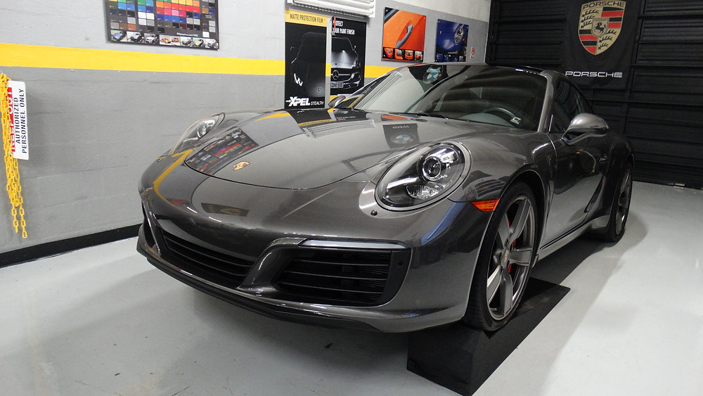 Full Front paint protection package Porsche