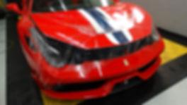 Ferrari 458 speciale clear bra Miami