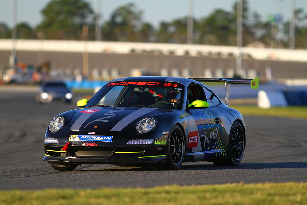 Porsche GT3 race car wrap