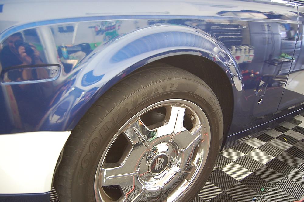 Rolls Royce custom car wrap Miami