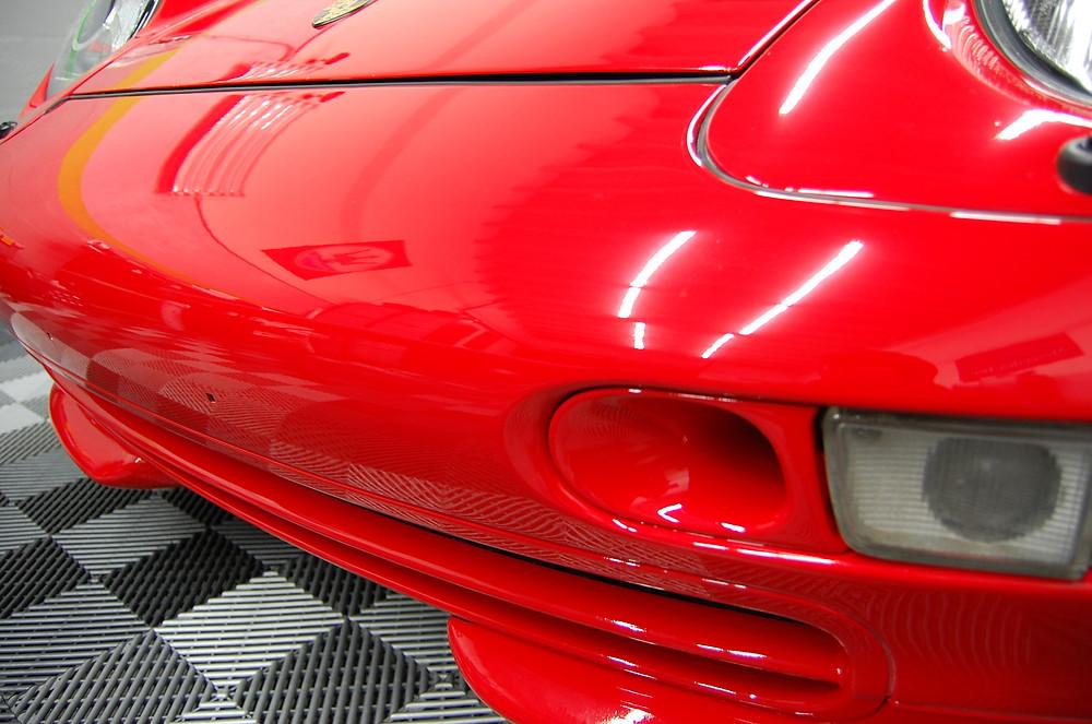 Porsche clear bra Miami