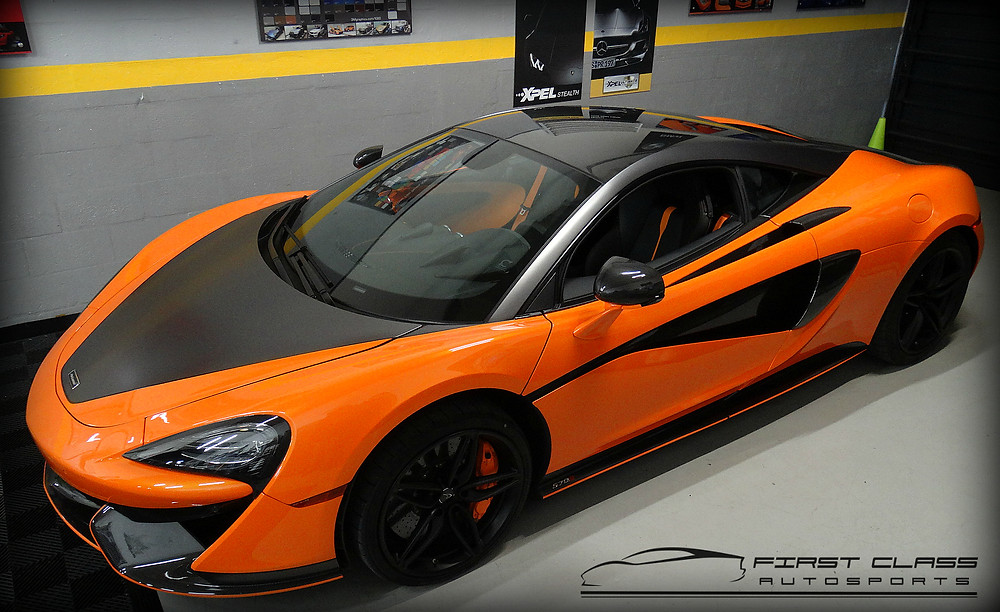 mclaren 570S car wrap miami vinyl