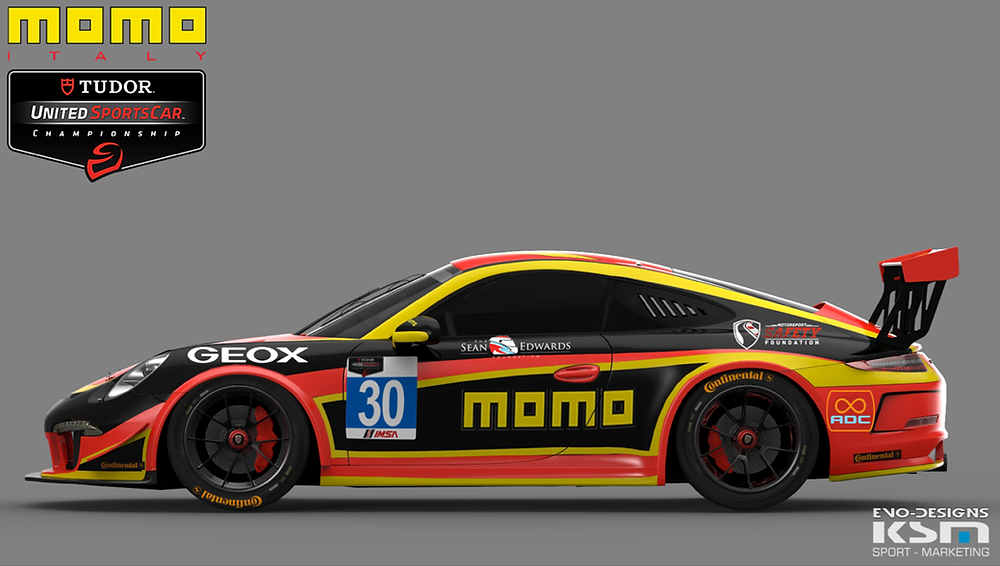 Race car car wrap Miami