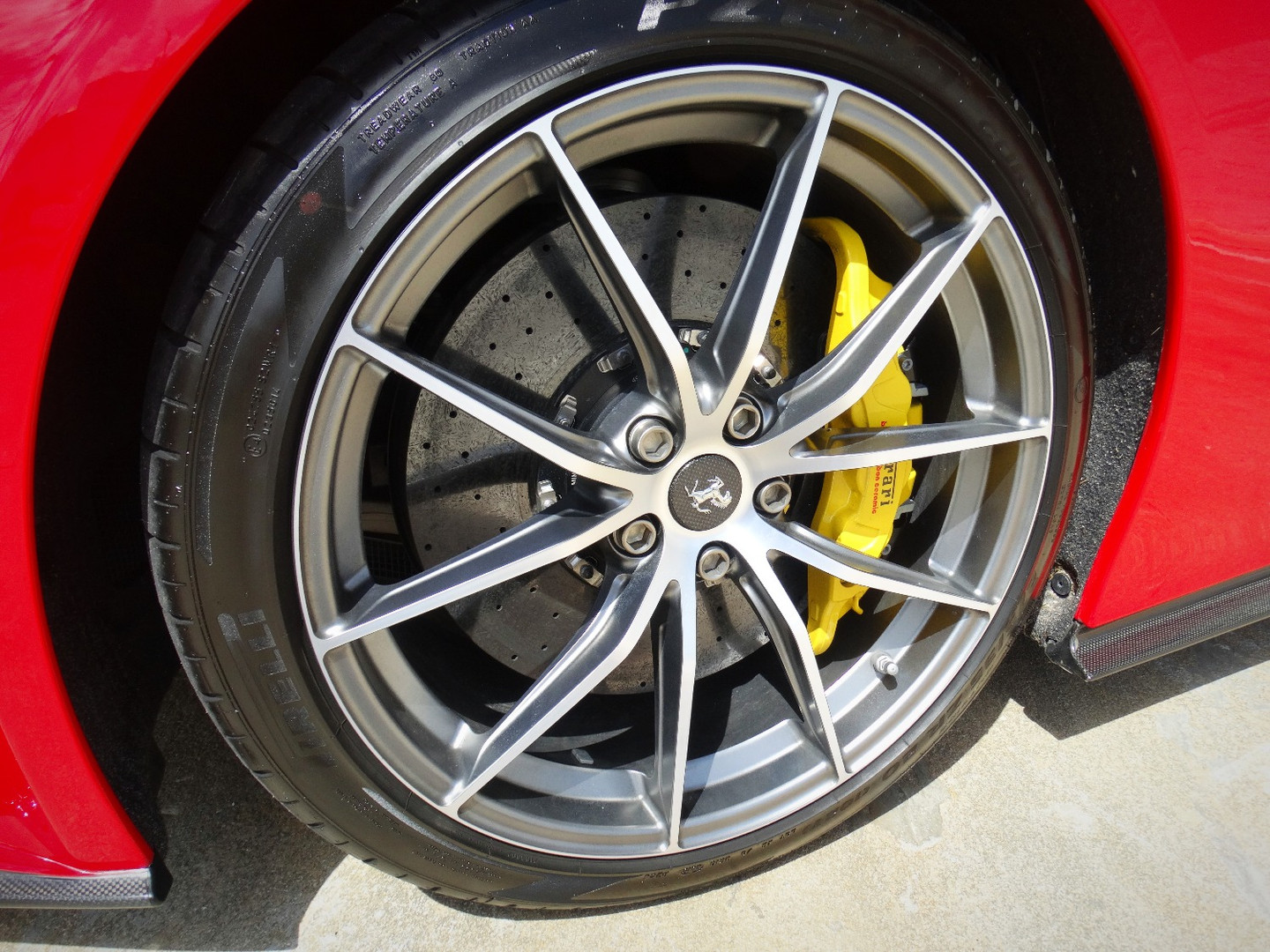Ferrari, Custom Caliper South Miami, Coral Gables