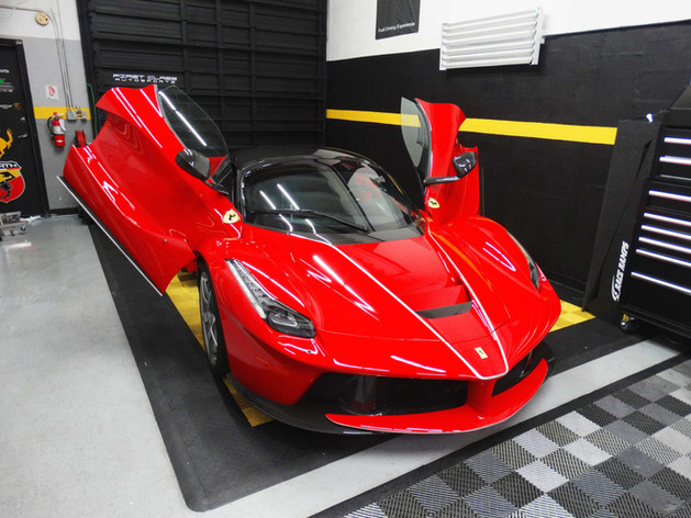 La-Ferrari-Aperta  paint protection film