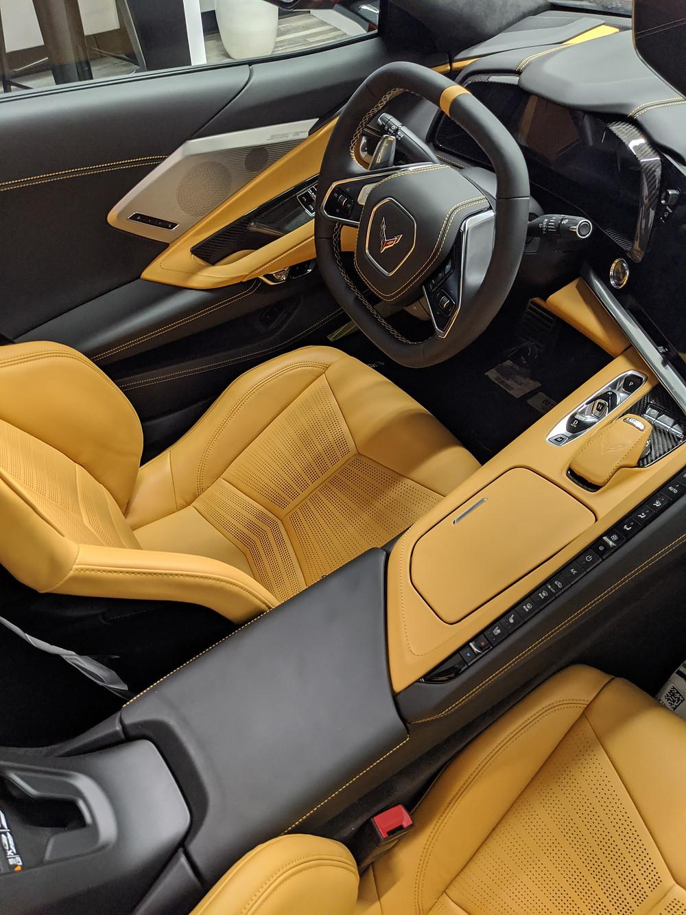 Protect your 2020 Corvette C8 interior with ceramic pro