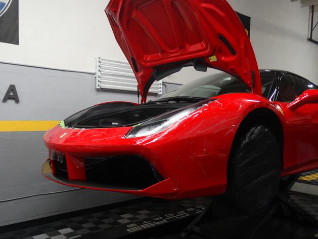 Ferrari 488 GTB paint protection film Miami