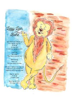 Lazy Lion Bone