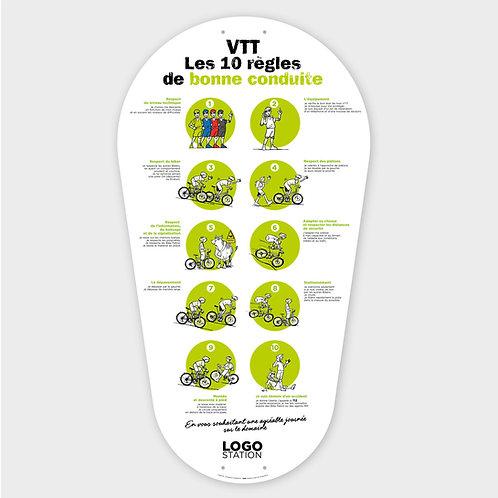 Balise VTT Règles de bonne conduite