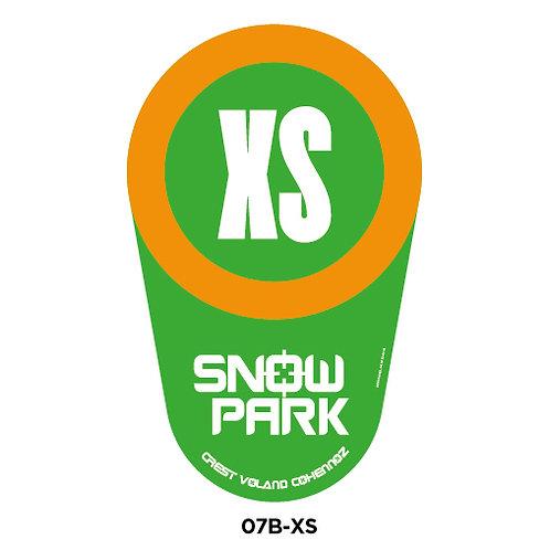 Balises poire SnowPark