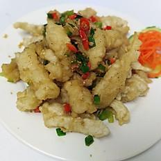 Crunchy Spicy Squid