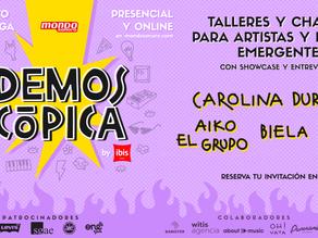 Renovada, en streaming y gratuita. No te pierdas La Fiesta Demoscópica de Mondo Sonoro by Ibis