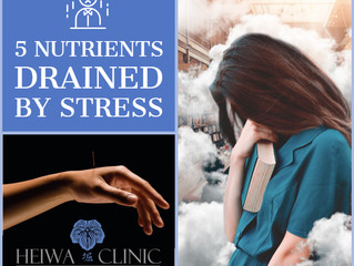 5 Nutrients Drained by Stress