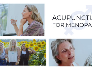 Menopause and acupuncture