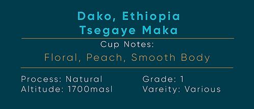 Ethiopia Dako Natural