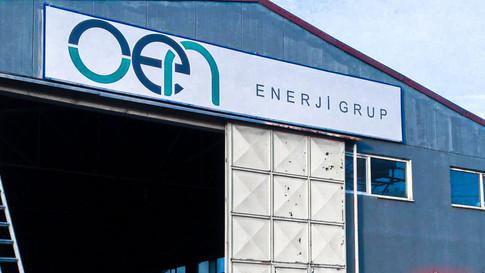 Çaycuma Organize Sanayi Bölgesi OEN Enerji Grup Tabela Montajını Gerçekleştirdik