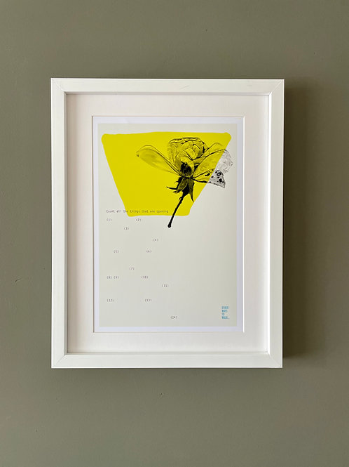 Art Print: Things That Are Opening