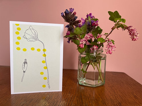 Gift Card: Poppy Head