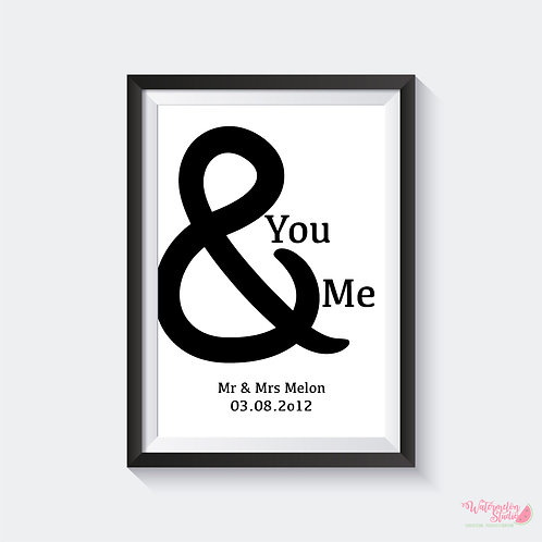 You & Me Date